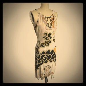 Emilio Pucci Vintage Mid-Length Silk Dress
